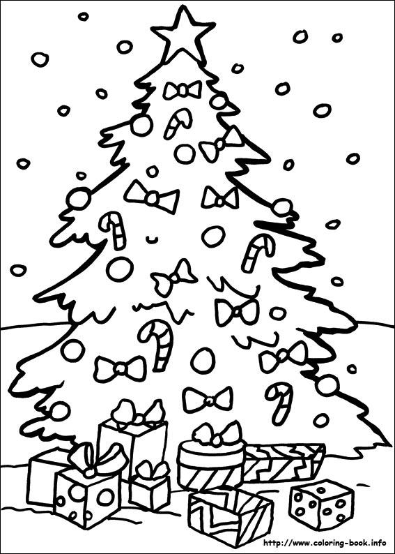 Drawn santa coloring book Christmas  on coloring pages