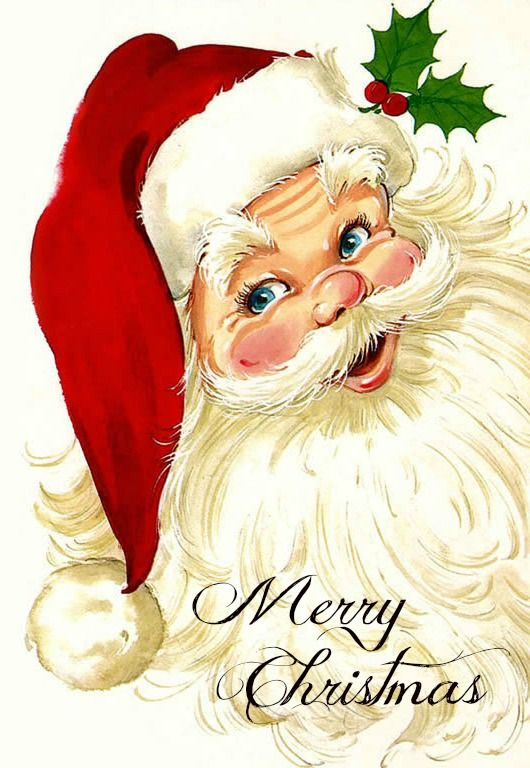 Drawn santa happy christmas On we as claus Images