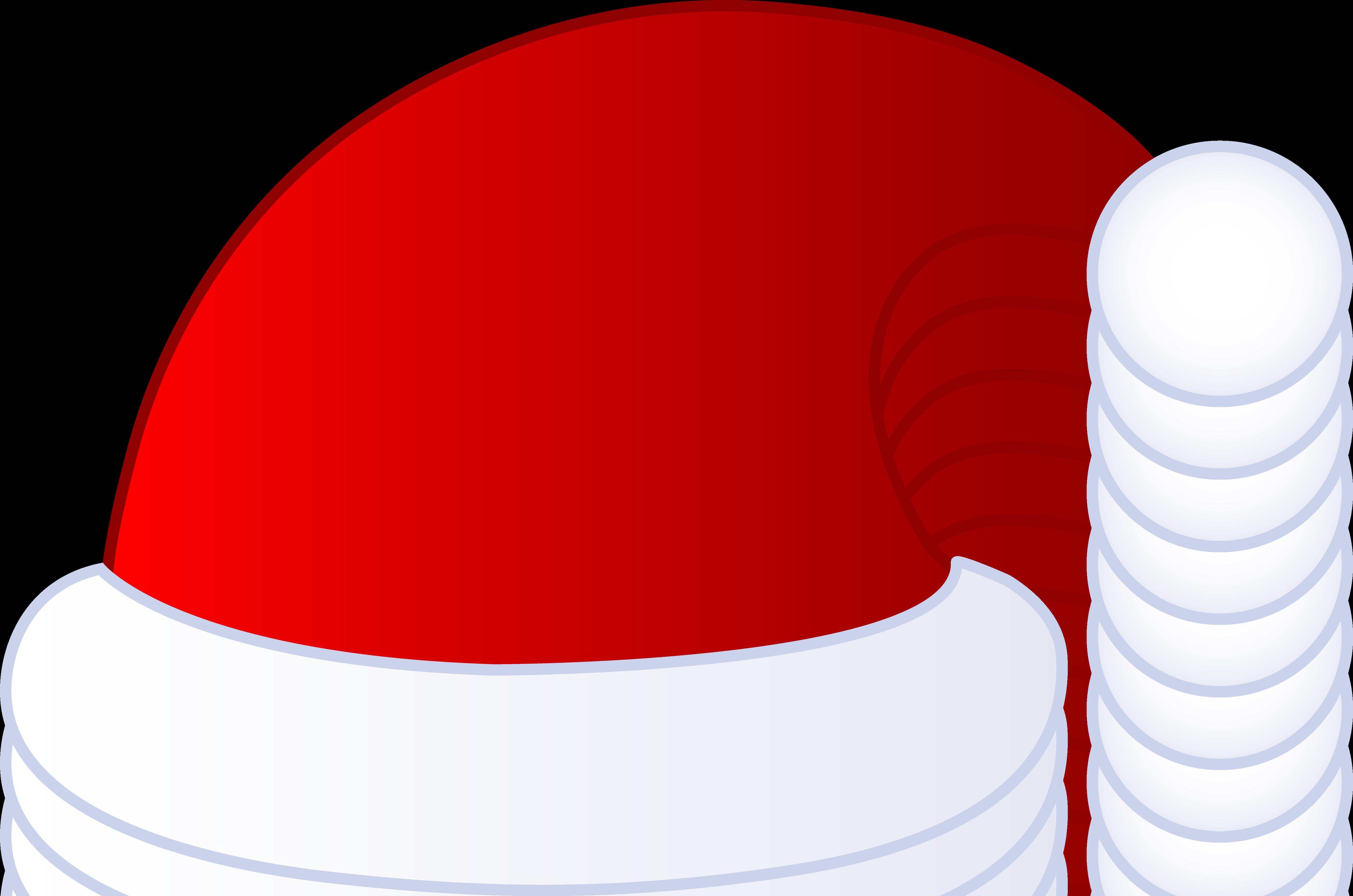 Drawn santa hat Hats Santa Cartoon  Clipart