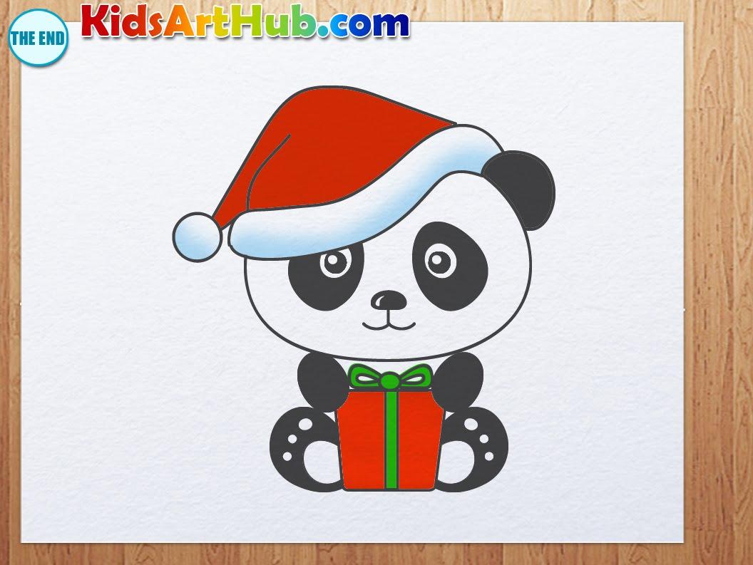 Drawn santa hat cartoon christmas Draw  hat and YouTube