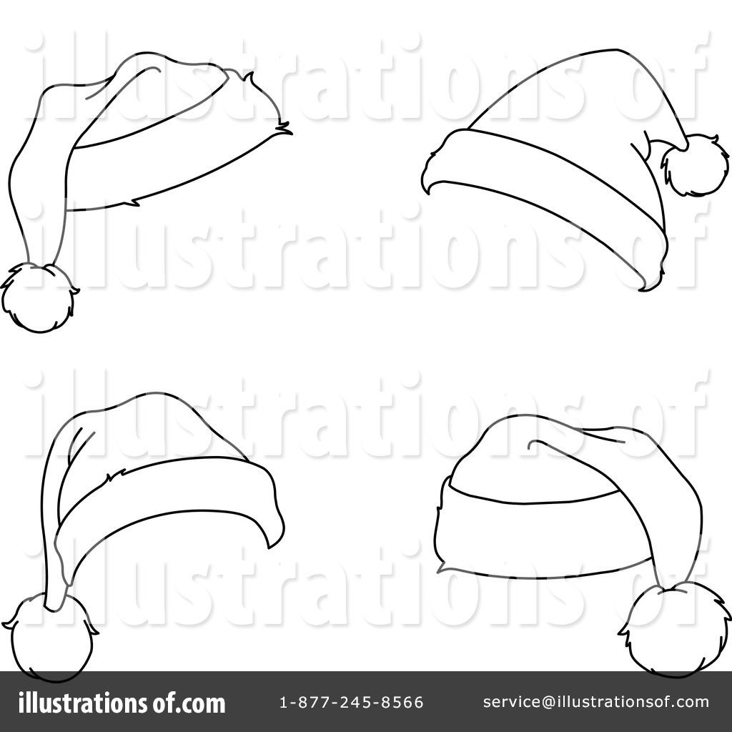 Drawn santa hat christmas clip art Illustration (RF) by yayayoyo Santa