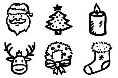 Drawn santa hat merry christmas Drawn Iconset Merry Iconset this