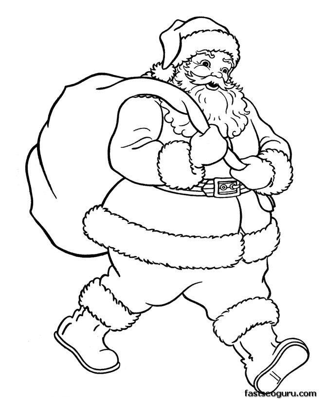 Drawn santa hat merry christmas Santa Best ideas gifts Santa
