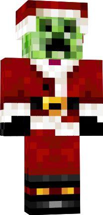 Drawn santa hat minecraft christmas Minecraft For skins: santa more