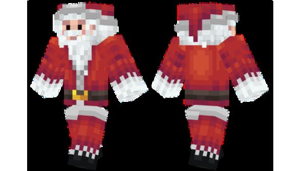 Drawn santa hat minecraft christmas Santa Minecraft Christmas Skin skins