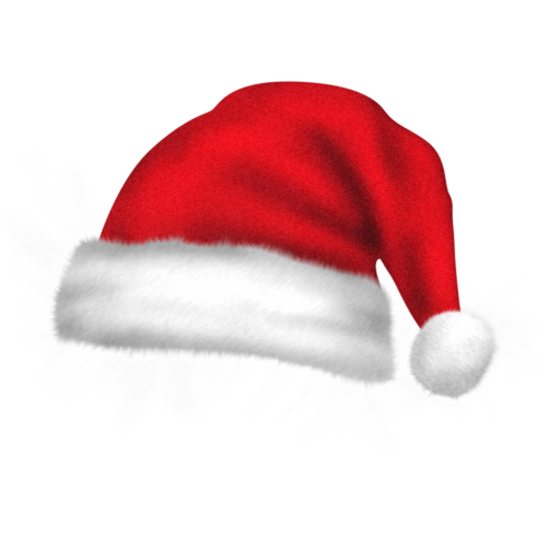 Drawn santa hat pixel Pixel Christmas Icon Graphics com
