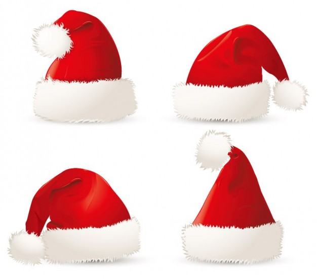 Drawn santa hat red Red Hat Vector christmas Download