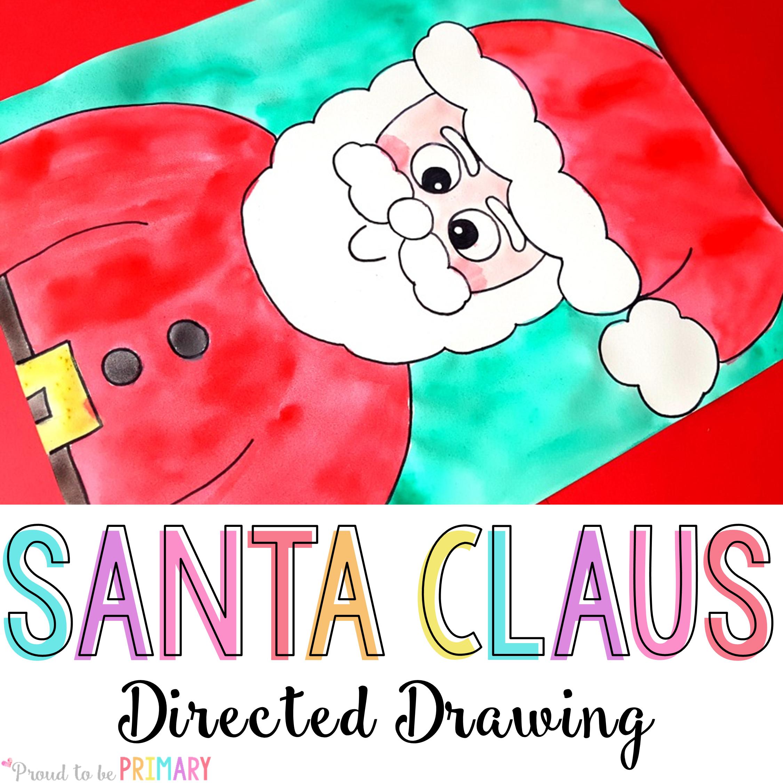 Drawn santa hat sanat Drawing Claus to Directed be