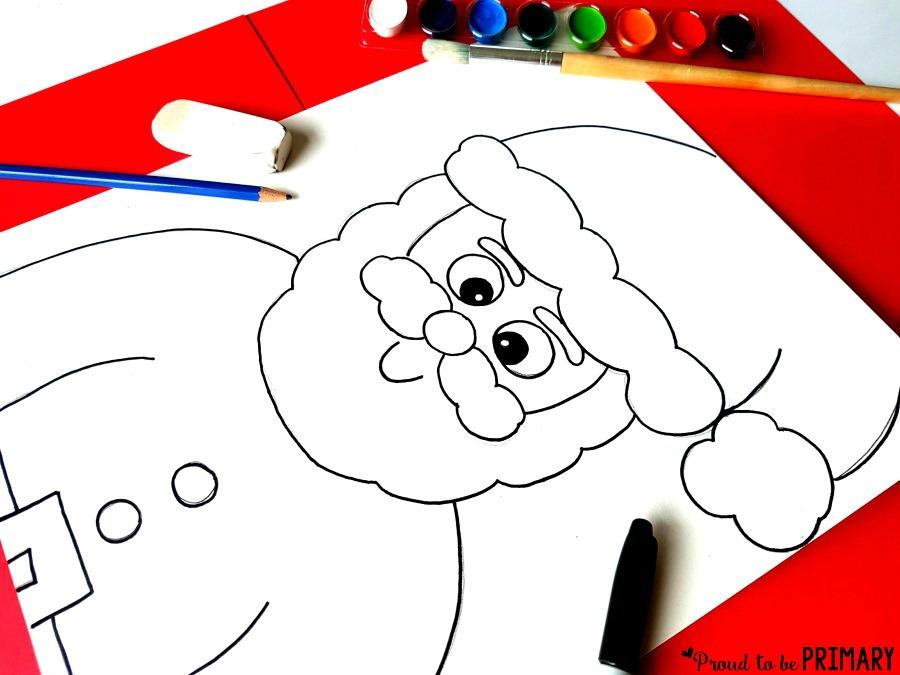 Drawn santa hat sanat Drawing your directed Santa to