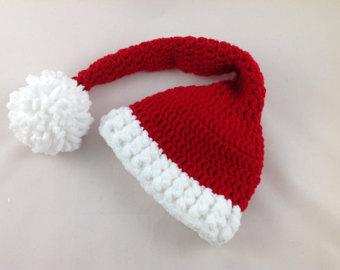 Drawn santa hat sanat Santa Crochet Etsy Hat Baby