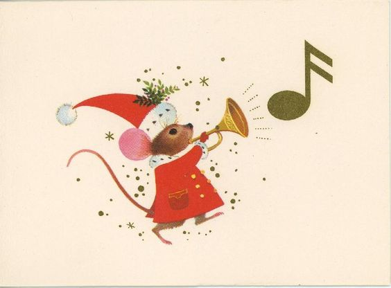 Drawn santa hat vintage Mouse Board • Hat The