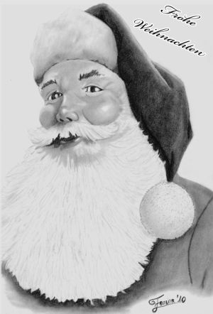Drawn santa pencil Deviantart Gallery Santa Pencil http://th09