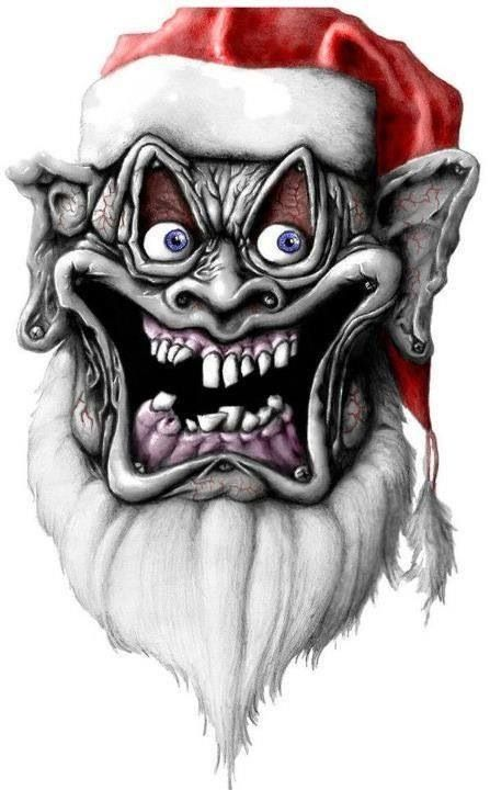 Drawn santa poor Images 94 holidays Evil Pinterest
