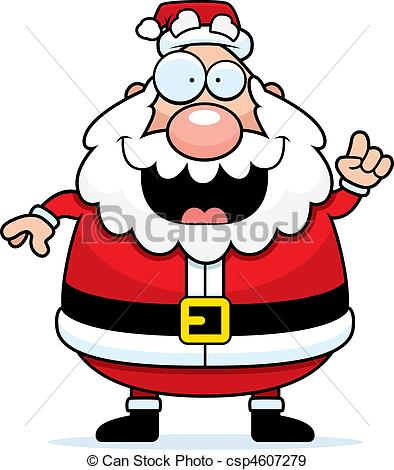 Drawn santa caricature Drawing Santa Cartoon