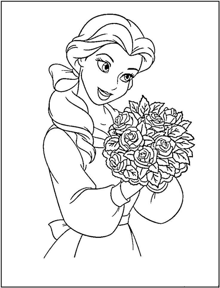 Drawn sanya child printable Disney best disney Coloring 433