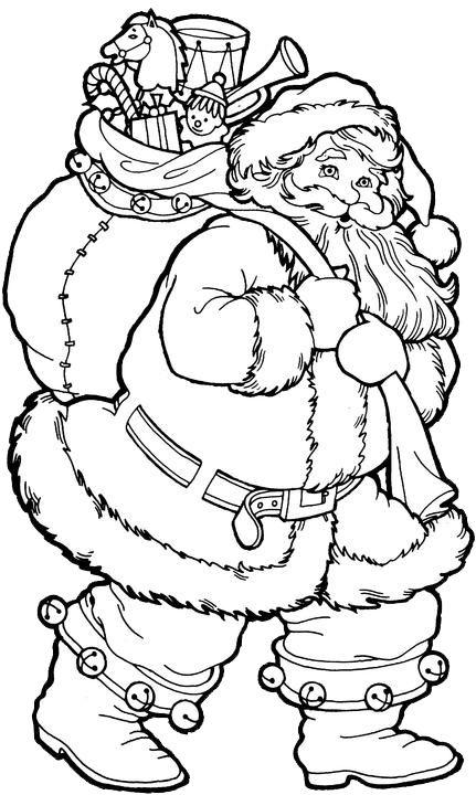 Drawn santa color Claus 20+ ideas Best Pages