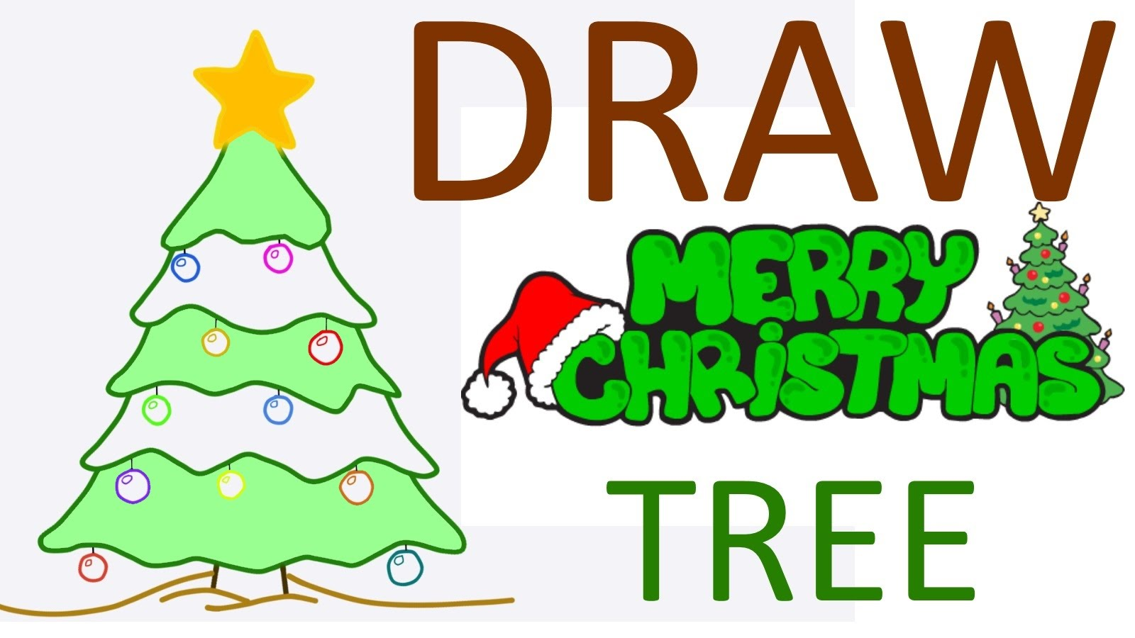 Drawn santa christmas tree Christmas kids  stuff Christmas