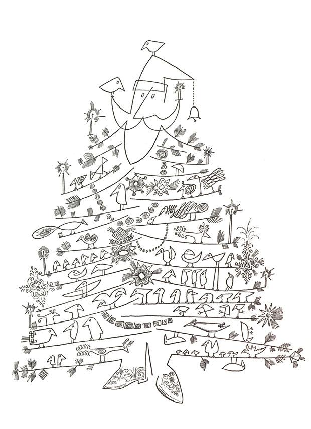 "Drawn santa christmas tree By Christmas Tree"" by Christmas"