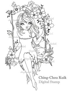 Drawn sanya coloring book MitchFoust by com on @DeviantArt
