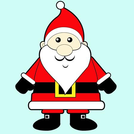 Sanya clipart easy Santa An for Draw