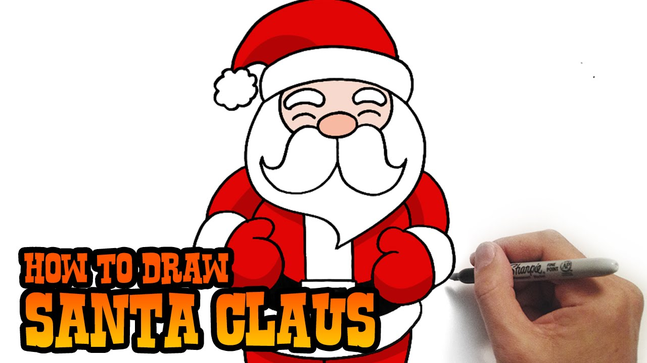 Drawn santa easy Claus and Easy to YouTube