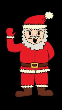 Drawn sanya easy Claus Drawing Christmas Holidays Draw