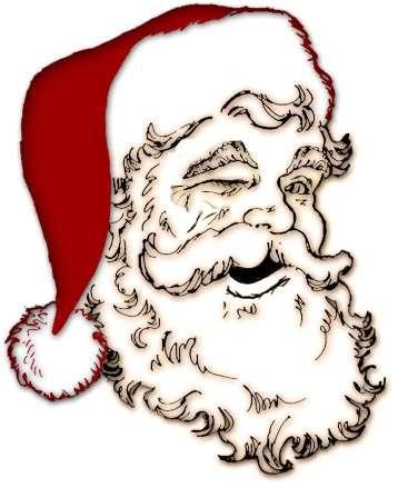 Drawn santa hard Imposter SANTA CLAUS: Imposter The