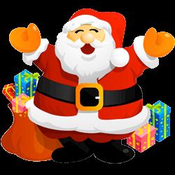 Drawn santa cartoon Cartoon Christmas St Claus Santa