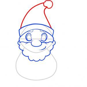 Drawn santa for kid santa 5 How to for com