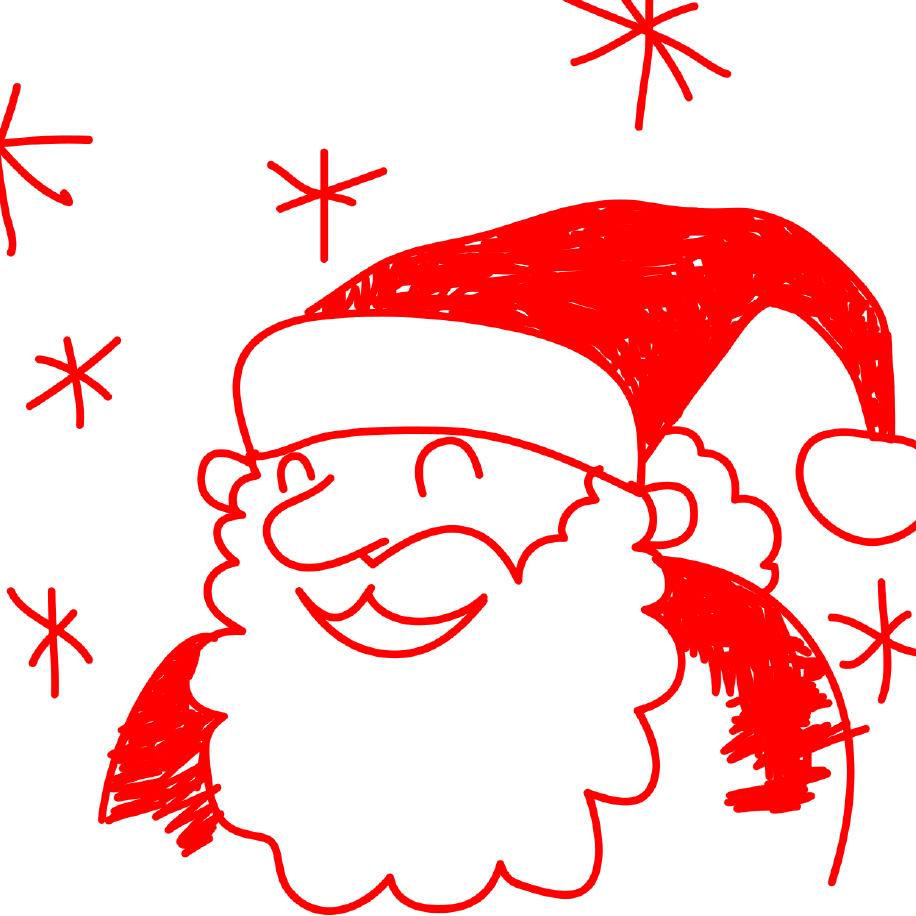 Drawn santa for kid santa Draw santa claus Timbuktu