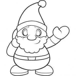 Drawn santa for kid santa 9 How to for com