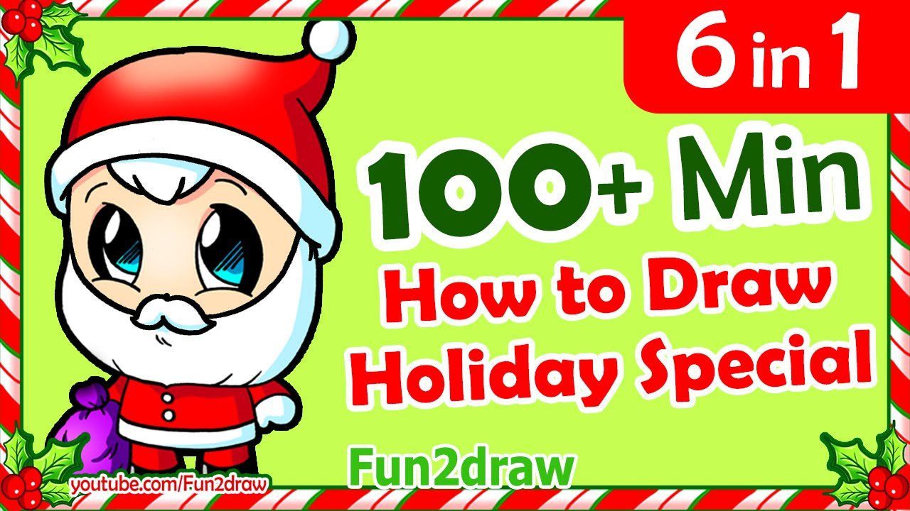 Drawn santa fun2draw Drawings from Christmas How by