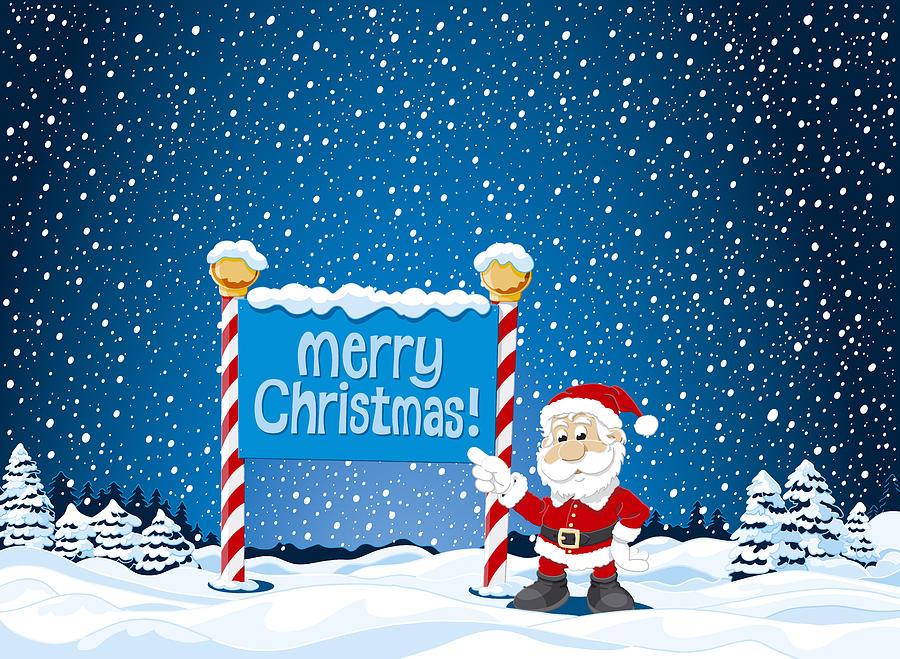 Drawn santa merry christmas Claus Santa photo#11 Claus santa