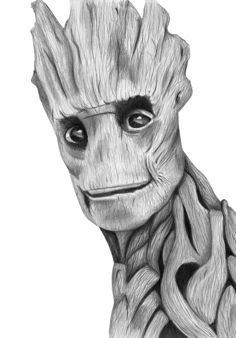 Drawn sanya pencil Related Groot Drawings and Pinterest