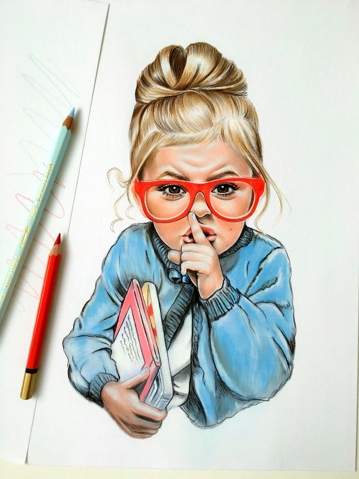 Drawn sanya pencil Drawing Vasilyeva Portraits Pinterest by