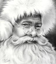 Drawn santa realistic For images 19 Image on