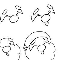 Drawn sanya simple Santa to Odd Draw How