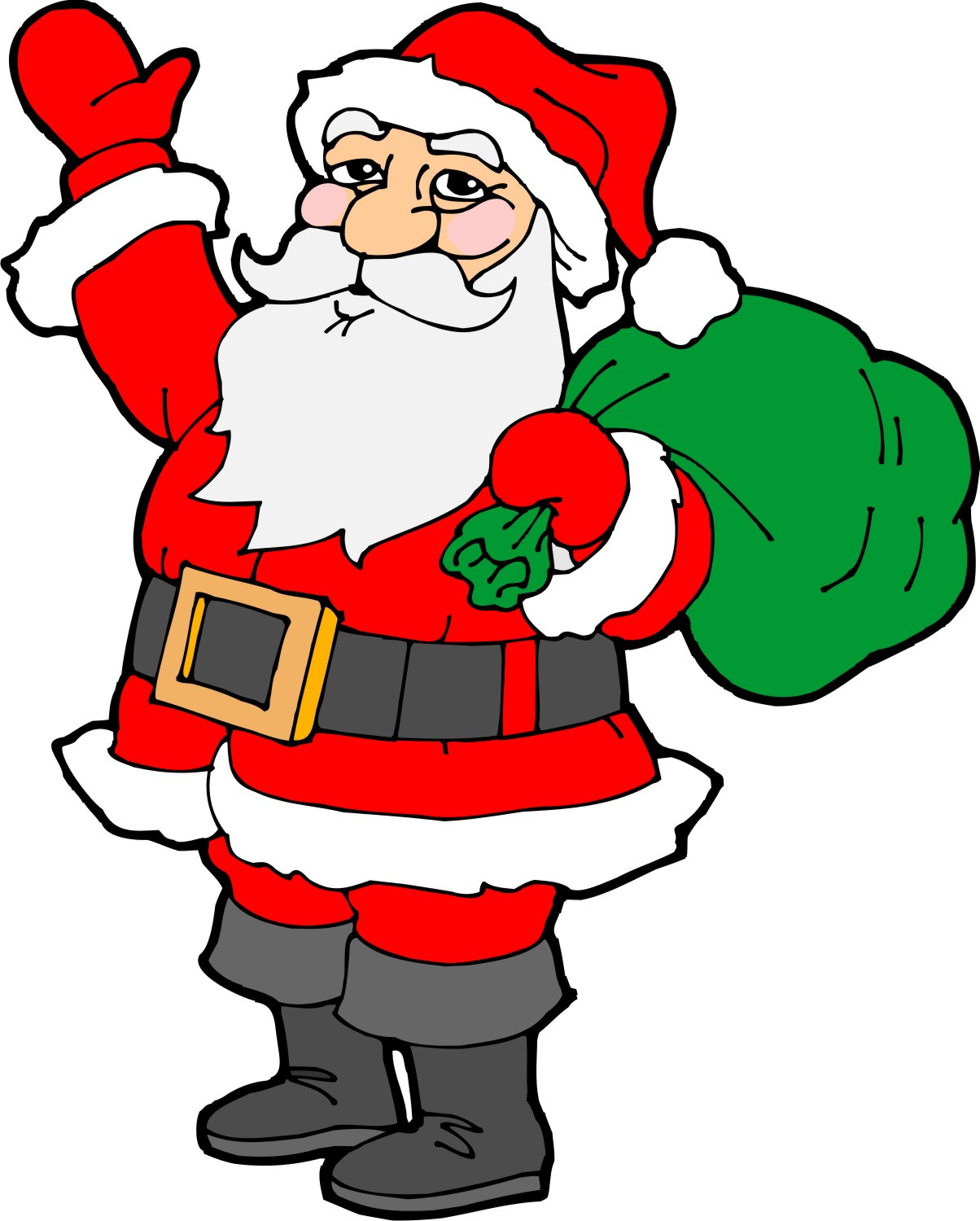 Drawn santa fun christmas Creative Christmas for Decorations Drawings
