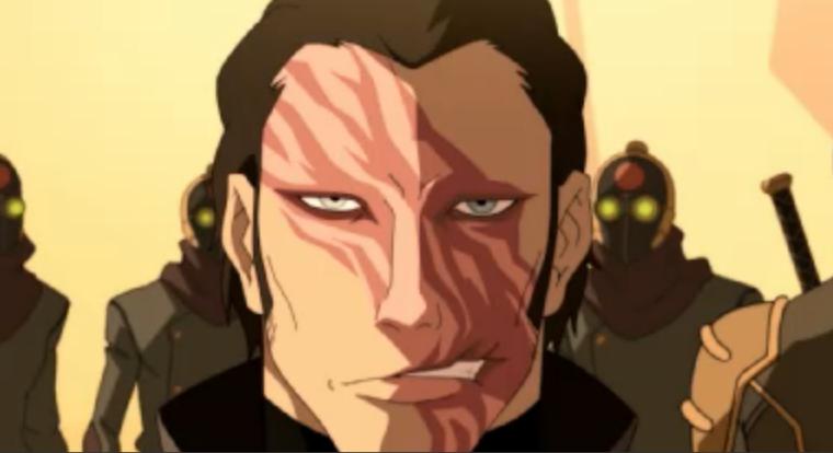 Drawn scar anime Tropes Scars  Evil TV