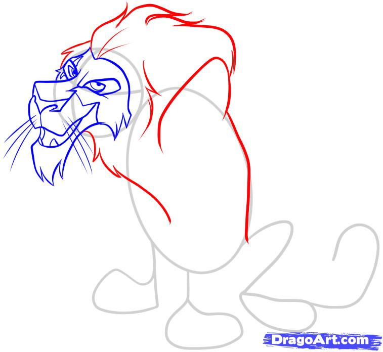 Drawn scar anime Draw How Disney draw how