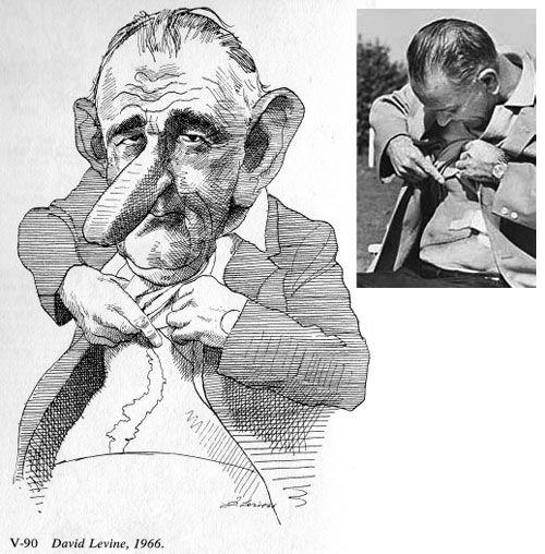 Drawn scar cartoon Alluding President Presidents powerful 1966