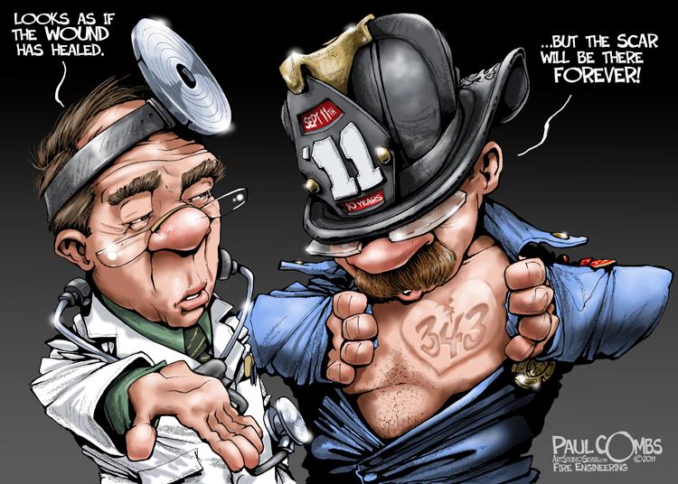 Drawn scar cartoon FIRE MAG BY CARTOON ENGINEERING