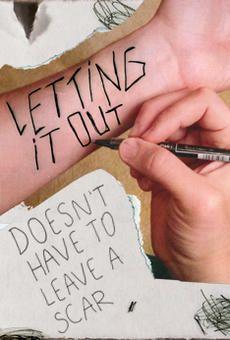 Drawn scar cutter Cutting; cut; depression; of self