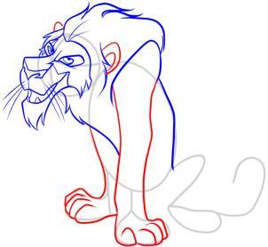 Drawn scar easy To draw how scar How