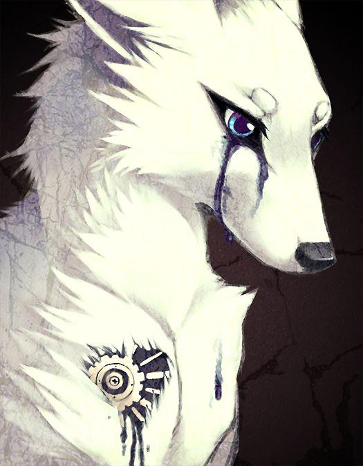 Drawn scar eye anime Drawing Best 25+ Wolf Swang