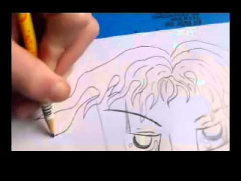 Drawn scar eye anime Hair on  with and