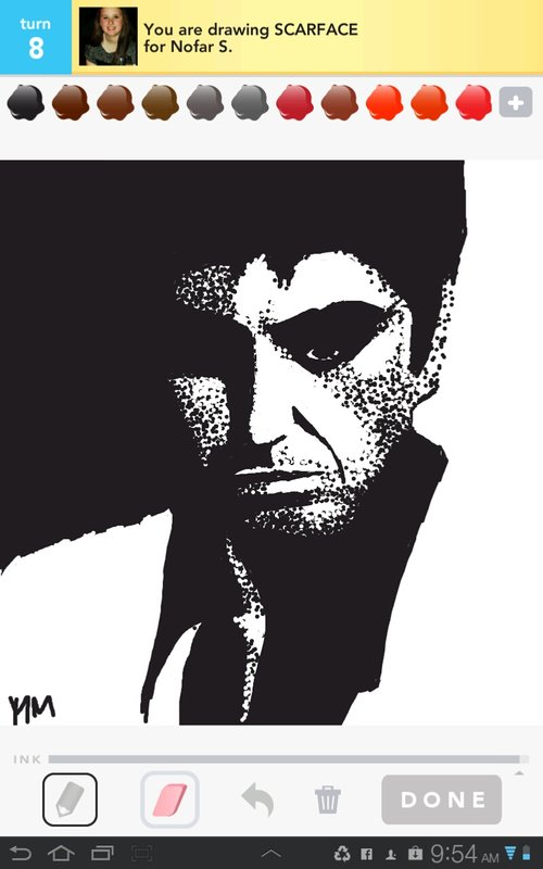 Drawn scar face drawing  Scarface How Draw Sign