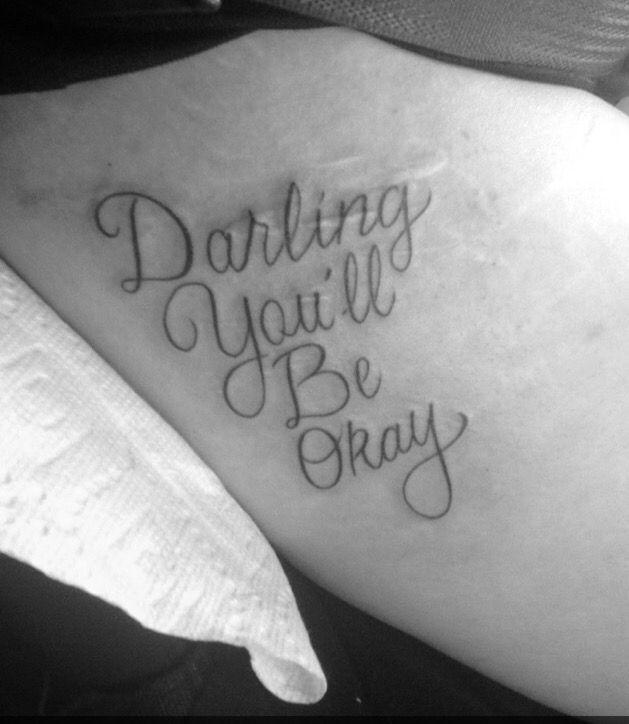 Drawn scar shoulder Self 25+ Pinterest my on