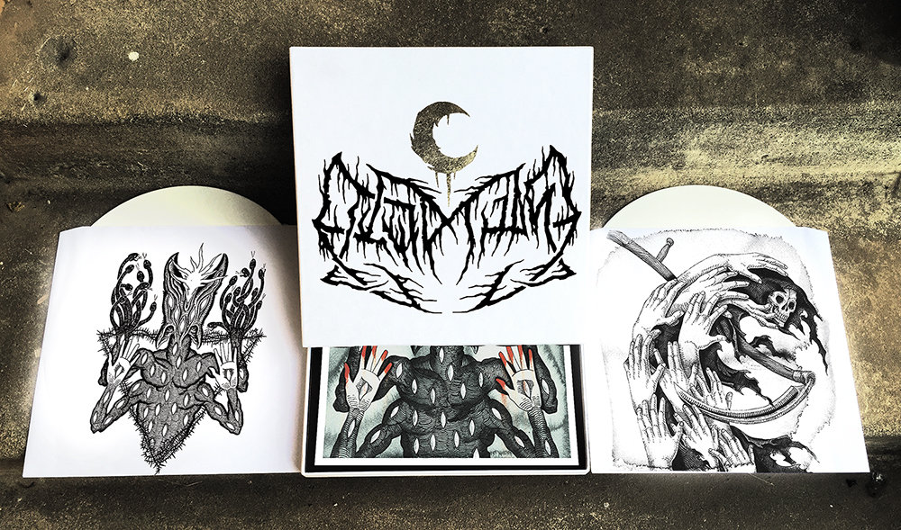 Drawn scar thick Sighted Lithograph Chip LEVIATHAN White