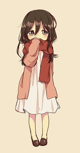 Drawn scarf anime On 80 on Pin ANIME